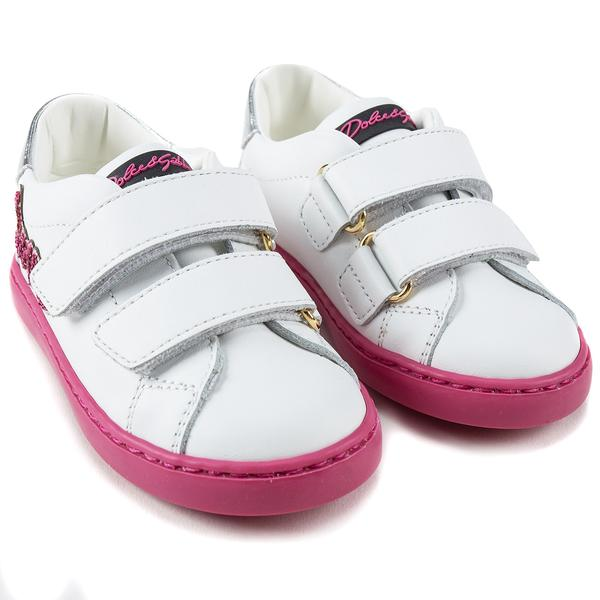 Baby Girls White Leather