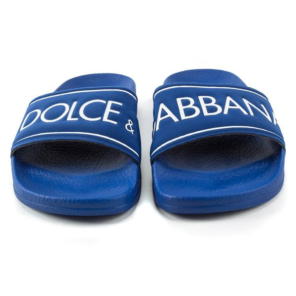 Boys Blue Polyester Slippers