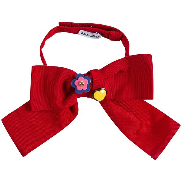 Girls & Boys Red Bow Tie