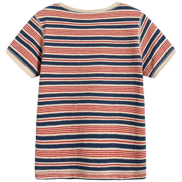 Baby Red Stripes Cotton T-shirt
