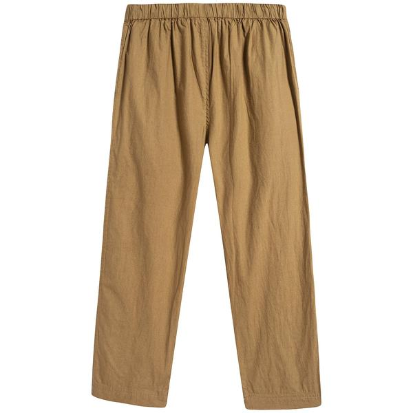 Baby Olive Cotton Trousers