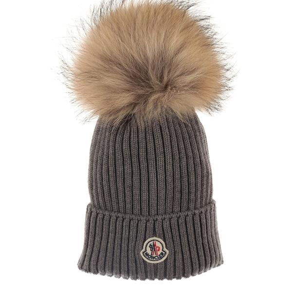 Boys & Girls Grey Plush Trims Knitted Hat & Scarf Sets - CÉMAROSE | Children's Fashion Store - 2