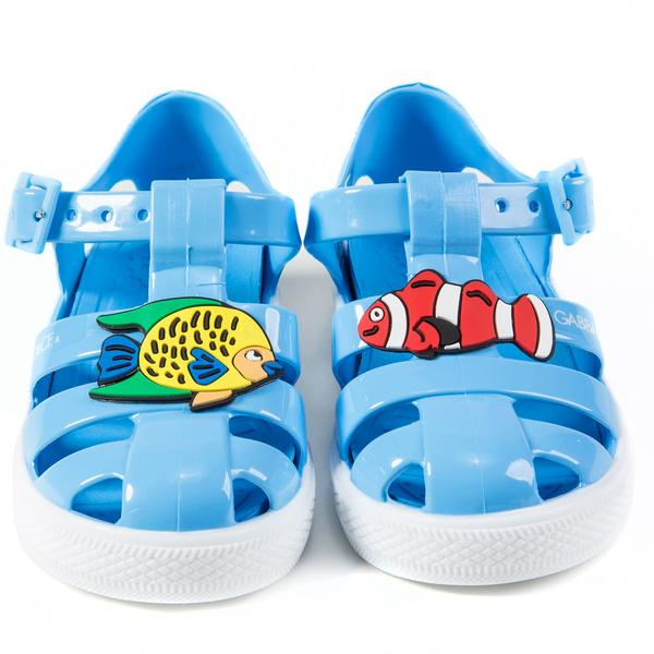 Boys & Girls  Wathet   Whit  Fish  Sandals