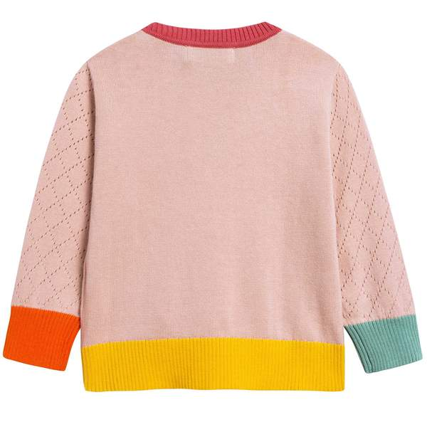 Baby Girls Pink Sweater