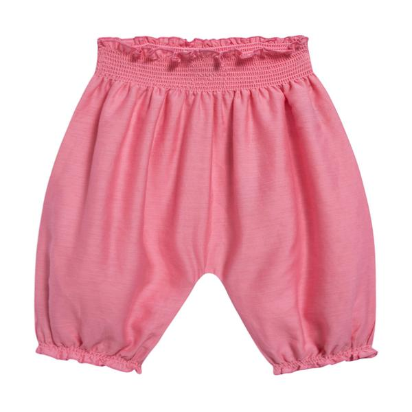Baby Candy Pink Woven Trousers