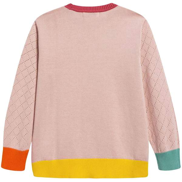 Girls Pink Sweater