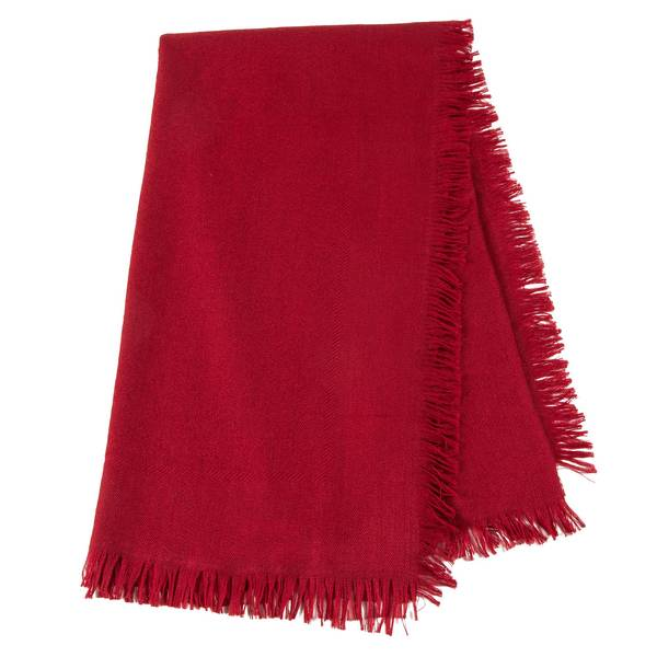 Girls Red Scarves