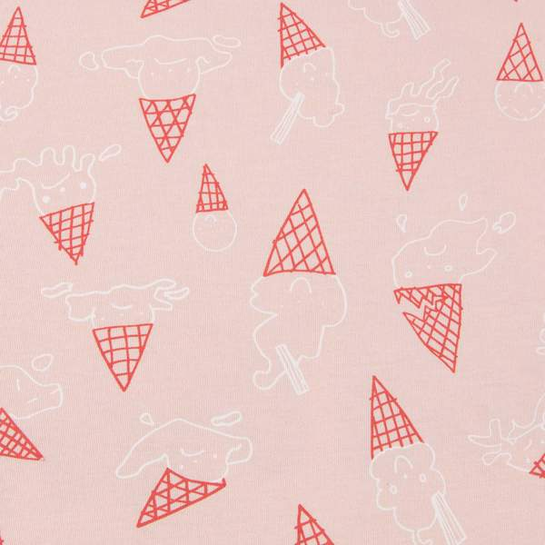 Baby Pink Toasty Jry Blanket Ice Cream