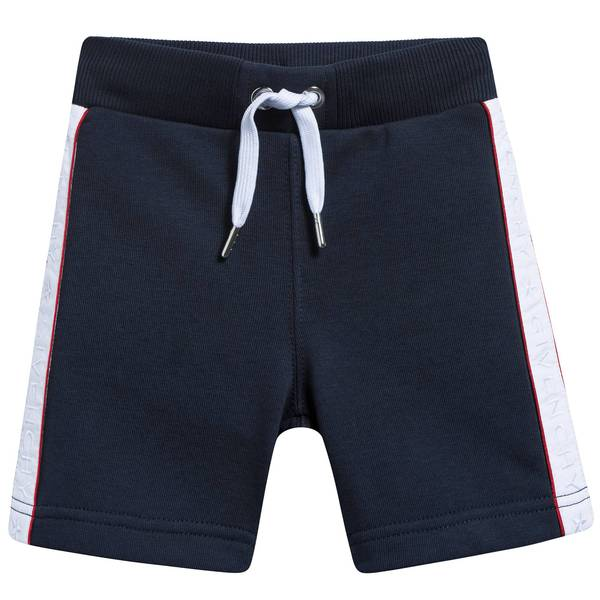 Baby Boys Blue  Cotton Shorts