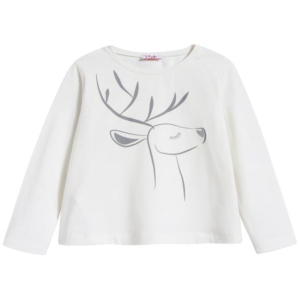 Baby Girls Milk Cotton T-shirt
