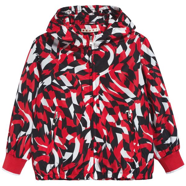 Girls Flame Red Jacket