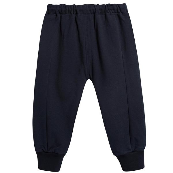 Girls Navy Blue Cotton Trousers