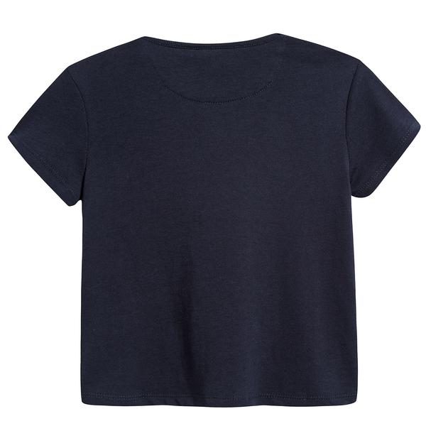 Baby Boys True Navy Cotton T-shirt