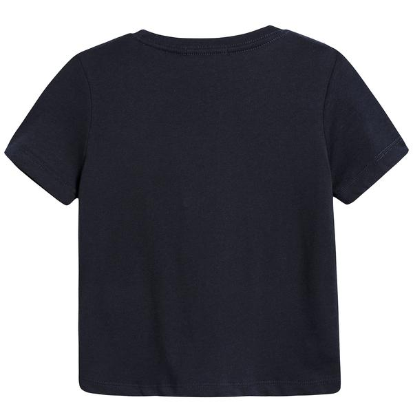 Boys True Navy Cotton T-shirt
