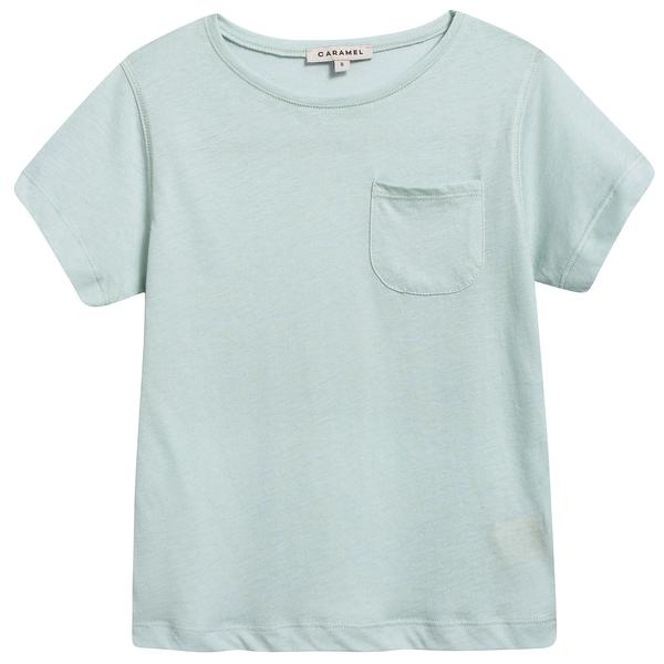 Girls & Boys Light Mint Cotton Jersey T-shirt