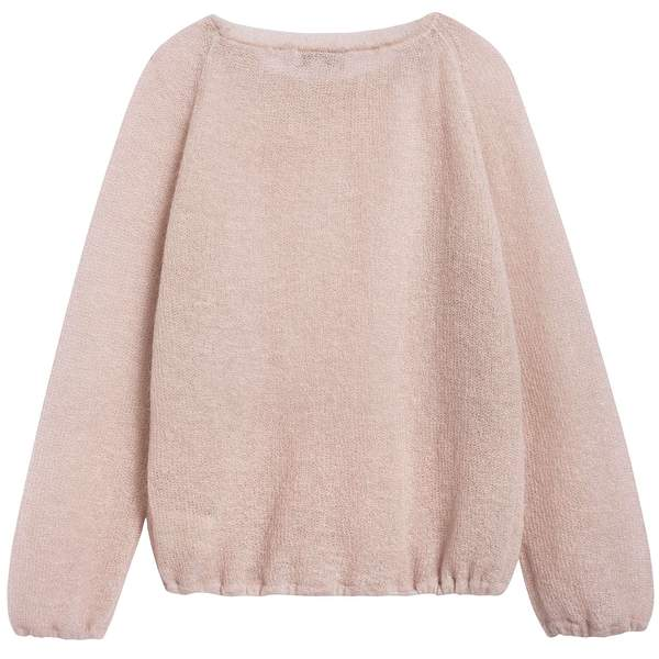 Girls Sand Knitwear Jumper