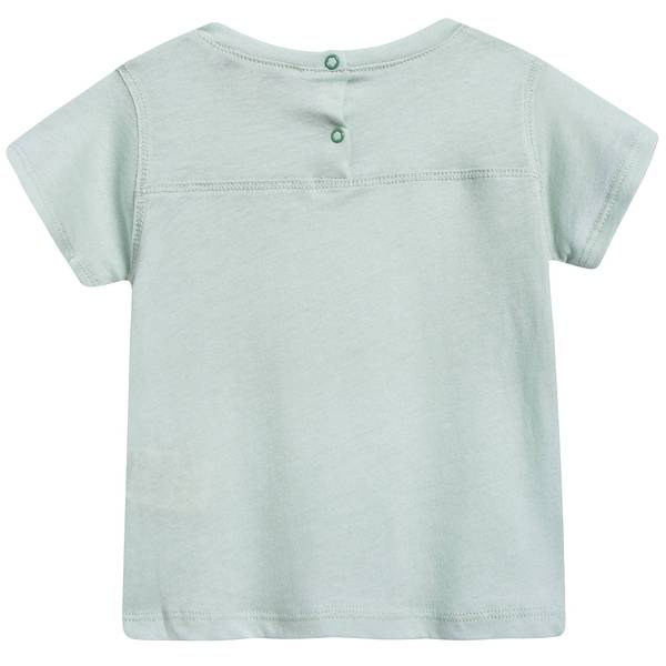 Baby Light Mint Cotton Jersey T-shirt