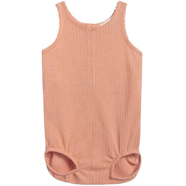 Baby Coray Pink Cotton Jersey Romper