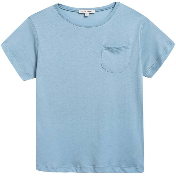 Boys & Girls Cornflower  Cotton  Jersey  T-shirt