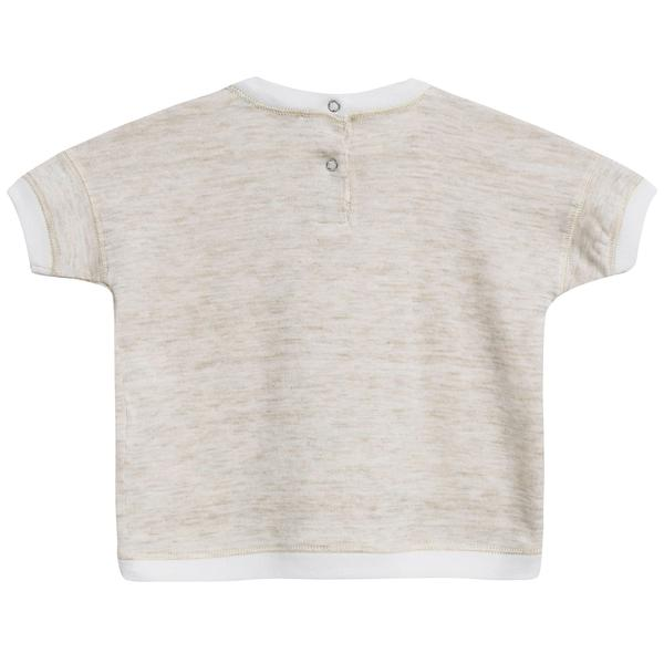 Baby Oatmeal Cotton Jersey T-Shirt