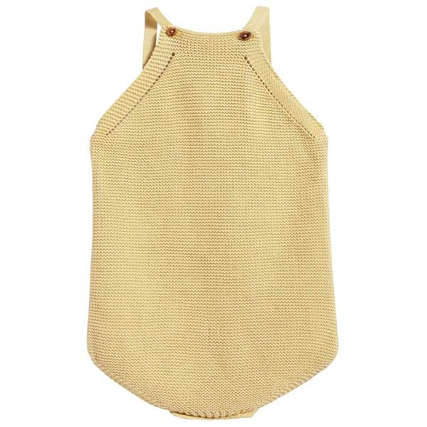 Baby Lemon Cotton Knitwear Romper