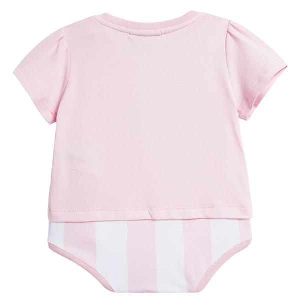 Baby Girls Rosa Printed Cotton Babysuit