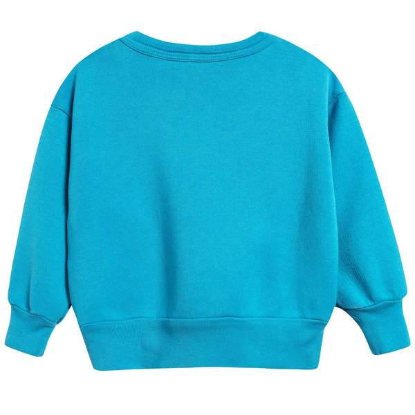 Baby Blue Halley Cotton Sweatshirt