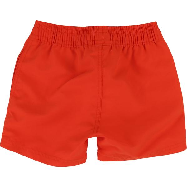 Boys Red Surfer Cotton Shorts