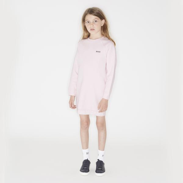 Girls Pale Pink Cotton Top