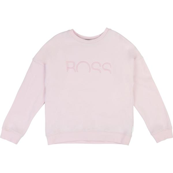 Girls Pale Pink Cotton Sweater