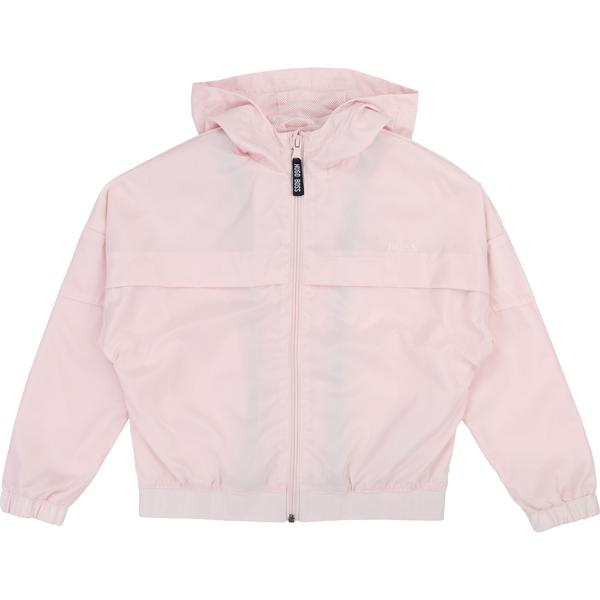 Girls Pale Pink Coat
