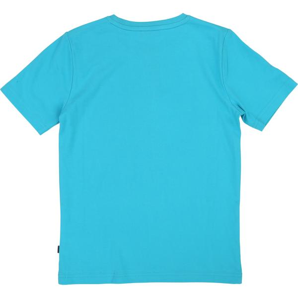 Boys Sky Blue Cotton T-shirt
