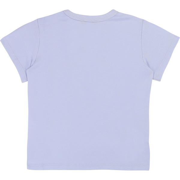 Baby Boys White Cotton T-shirt
