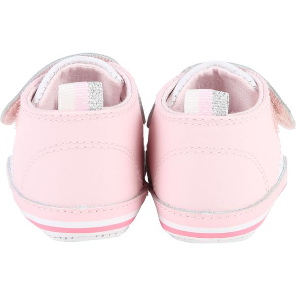 Baby Girls Light Pink Cow Leather Shoes