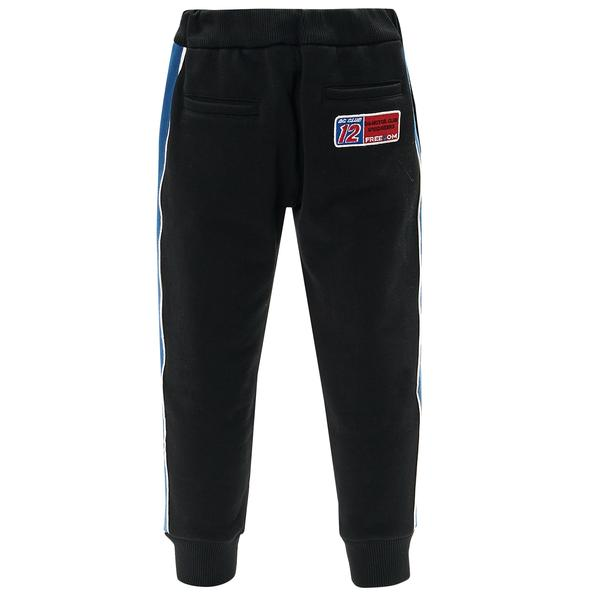 Boys Blue Cotton Trousers
