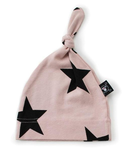 Baby Boys & Girls Pink Star Cotton Hat