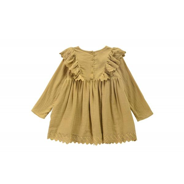 Girls Beewax Cotton Dress