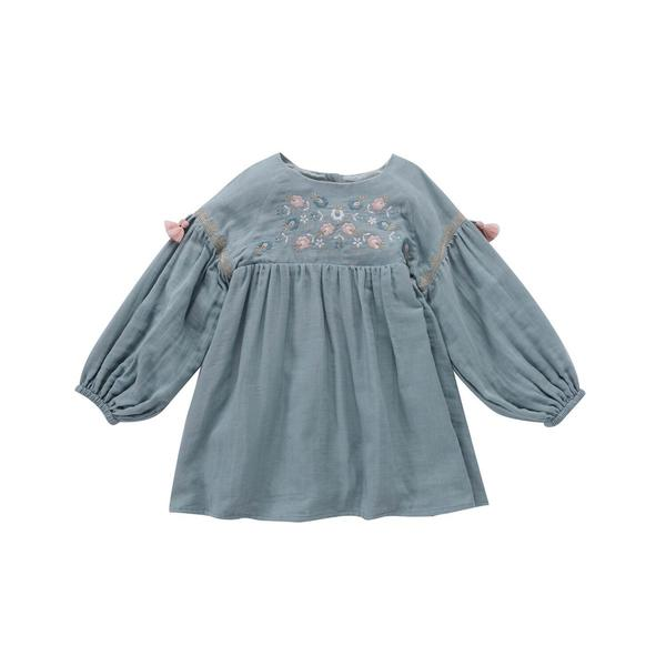 Girls Silver Cloud Dress