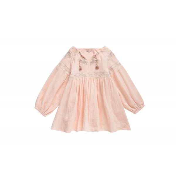 Girls Blossom Cotton Dress