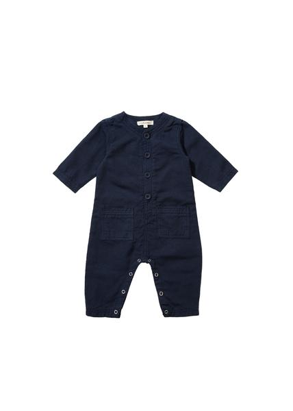 Boys Dark Blue Jumpsuit