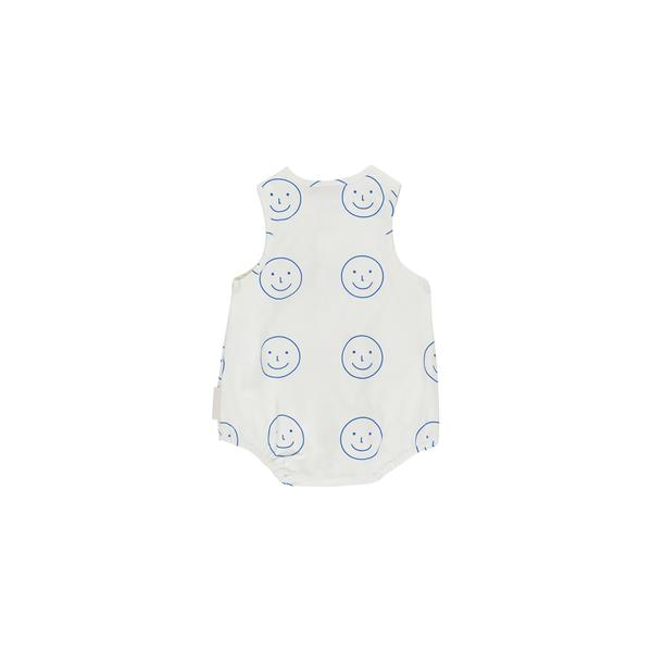 Baby White Cotton Babysuit