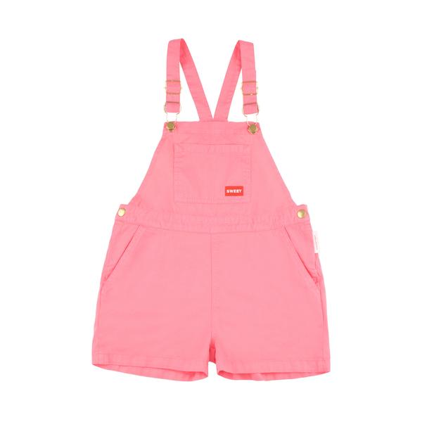 Girls Rose Cotton Shorts