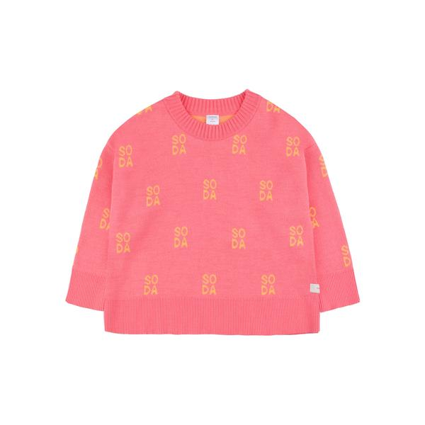 Girls Rose Pima Cotton Sweatshirt