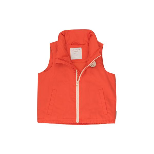Boys Red Cotton Vest