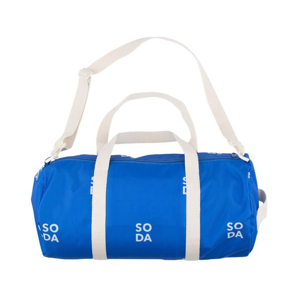 Girls & Boys Blue Barrel Bag