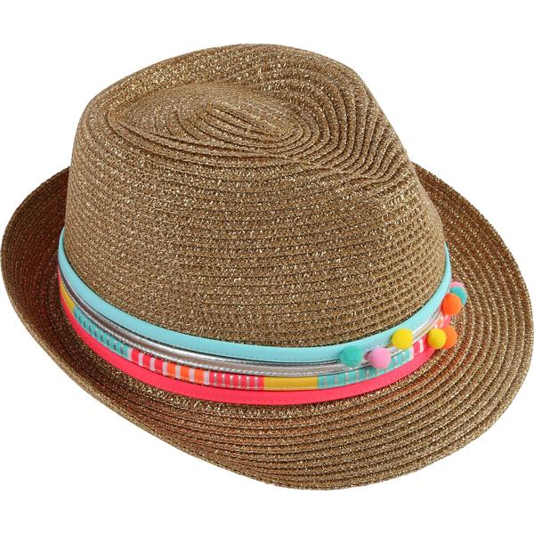 Girls Sun Hat With Chromatic Rope