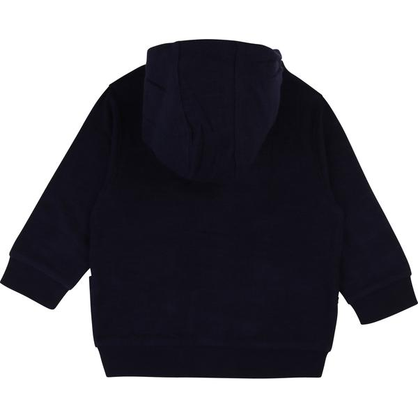 Baby Boys Indigo Blue Cotton Cardigan