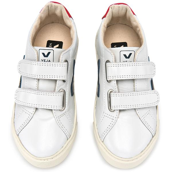 Boys&Girls White Leather Velcro Shoes - CÉMAROSE | Children's Fashion Store - 1