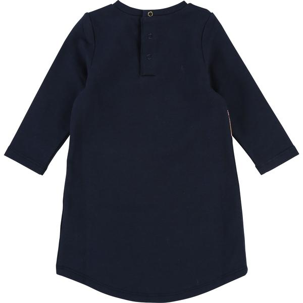 Baby Girls Dark Indigo Cotton Dress
