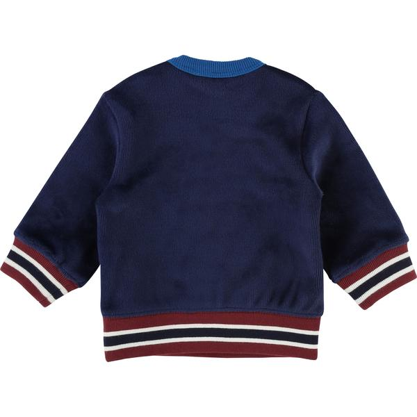 Baby Boys Dark Indigo Sweatshirt